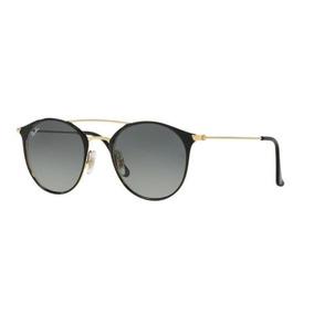Oculos Sol Ray Ban Rb3546 187 71 Preto Dourado Cinza Degradë 34b6caa50a
