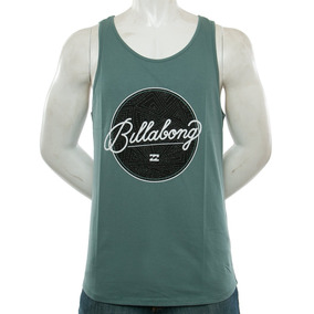 Musculosa New Map Green Billabong Fluid Tienda Oficial