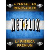 Cuente Neflix Premium Personalizada 4 Pantalls C/ Garantía