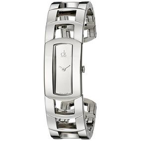 Reloj Calvin Klein K3y2m118 Plateado Femenino
