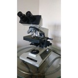 Microscópio Binocular Olympus Bh2 Campo Claro Led