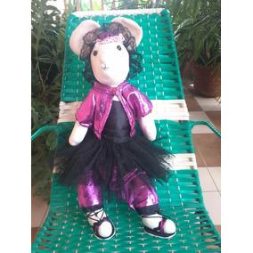 Muñecas De Trapo (ratona Bailarina) De 60 Centímetros