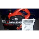 Cepillo Electrico Black And Decker 3-1/4 Profesional 650 W