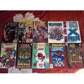 Lote De Comics Variado 12 Tomos Spiderman, X-men...