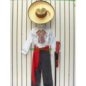 Disfraz Caporal Sombrero China Poblana Revolucioario Niños