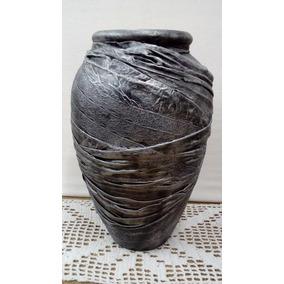 Florero- Jarrón Grande Ceramica Altura 33 Cm