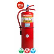 Matafuegos Georgia Polvo Abc90 Mayor Potencial Extintor 10 K