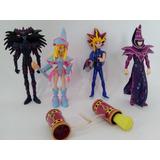 Yugioh Lote Figuras Yugi, Magos Obscuro Obscura Y Del Caos