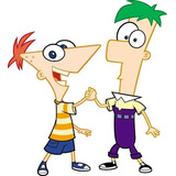 Kit Imprimible Candy Bar Phineas Y Ferb Fiesta 3x1