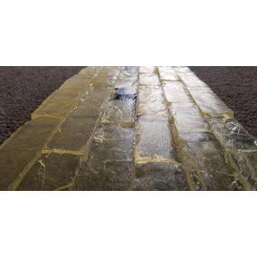 Molde Estampado Concreto Tipo Ladrillo Piedra Bajo Relieve