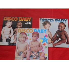 Vinil Disco Baby As Melindrosas Lote 3 Compactos Oferta
