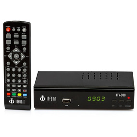 Conversor Tv Digital Usb Hdmi Gravador Tv Tubo Rca Itv300