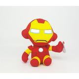 Peluche Ironman Tony Stark Hombre De Hierro Marvel Ty Beanie