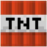 Minecraft Mojang Explosivo Tnt Manta Bloque Gráfico De Su...
