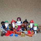 Playmobil Blancanieves Con 7 Enanitos Cuentos De Hada D1 N