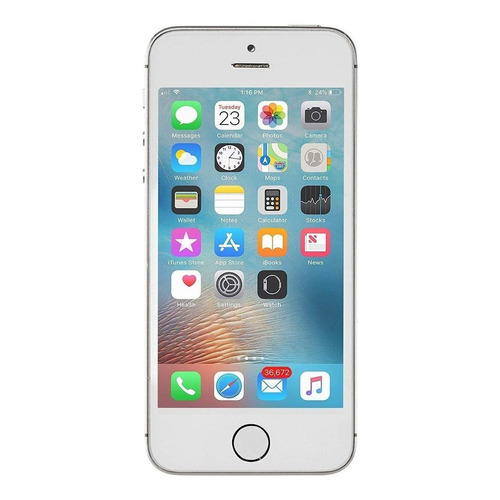 iPhone 5s 16 GB Prata 1 GB RAM