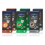 60 Capsulas Mix Mövenpick Nespresso Compatible