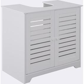Mueble Para Bacha Blanco Baño Divino