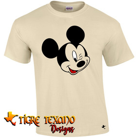 Playera Mickey Mouse Mod. 03 By Tigre Texano Designs