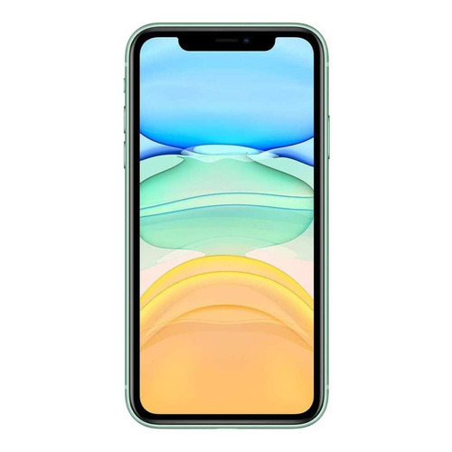Apple iPhone 11 Dual SIM 64 GB Verde 4 GB RAM