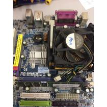 Vendo Placa Mãe Gogabyte Ga-8vm800m + Processdor No Estado