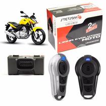 Alarme P/ Moto Partida Eletrica Stetsom Triplo I Todas Motos