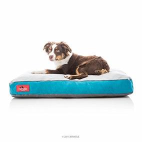 Brindle Soft Memory Foam Dog Cama Con Funda Lavable Extraíb