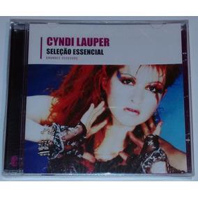 Cyndi Lauper Cd Seleção Essencial Coletânea Promo Raro Novo