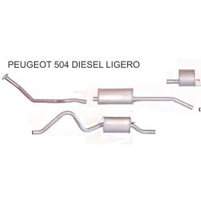 Caño De Escape Completo Peugeot 504 Diesel Ligero (93/98)