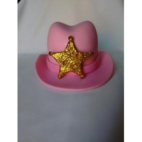 Adorno De Torta Sombrero De Sheriff Callie En Porcelana Fría