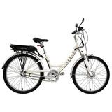Bicicleta Elétrica Sense S211e Breeze Branco Pérola 36v 250w