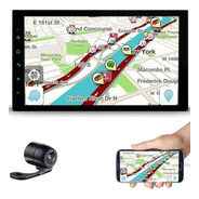 Central Multimídia Faaftech Mp5 Espelhamento Ios Android Câm