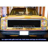 Chevrolet Pick Up Billet Parrilla Color Negro 73 A 78