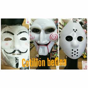 Mascara Rigida Juego Del Miedo Anonimus Jason Halloween