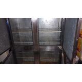Geladeira Industrial De Quatro Portas Inox