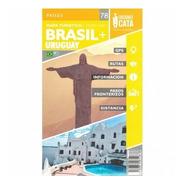 Mapa Rodoviário E Turístico Impresso Uruguai + Brasil (sul)