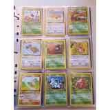 Cartas Pokemon Fosil Completo Comunes-infrecuentes Primera