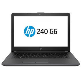 Notebook Hp 240 G6 Dual Core Celeron 14 4gb 500gb 6 Cuotas