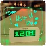 Reloj Despertador Con Pizarra Para Dejar Tus Mensajes