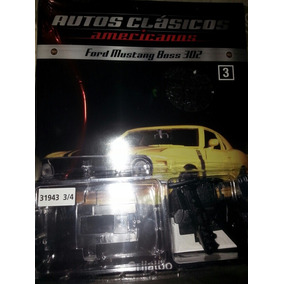 Ford Mustang Boss 302 Fasciculo 3 (1:24)