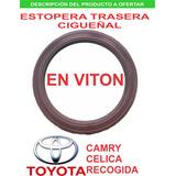 Estopera Trasera Cigueñal Toyota Camry 2.2 Celica 2.2