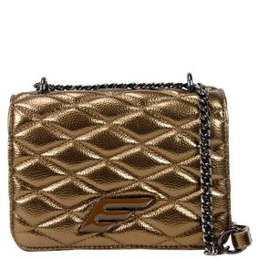 Bolsa Cross Body Bag Ellus 46zw469 Ouro Velho