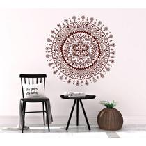 Mandala Decorativa Em Adesivo C/ Recorte Tamanho 80x80cm