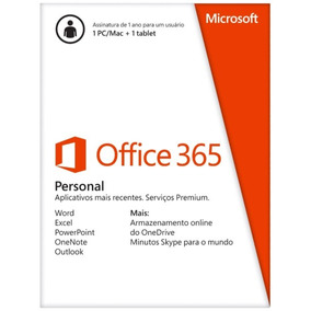 Office 365 Personal Lacrado Com Nota Fiscal