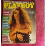 Playboy N°22 Edición Argentina - Marzo 1987 - Mercia Kronenb