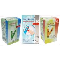 Tiras Reactivas Medicion De Glucosa Colesterol Y Ácido Úrico