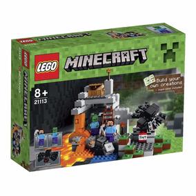 Educando Lego Minecraft 21113 La Cueva Construcción Bloques