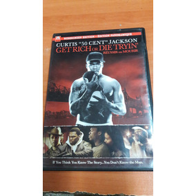 Pelicula Dvd, Get Rich Or Die Tryin, 50 Cent Del Año 2005.