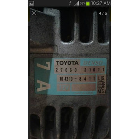Alternador Toyota Hilux Kavak 4.0 1grfe Original Casi Nuevo