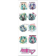 Plancha De Stickers De Anime Vocaloid Miku Hatsune